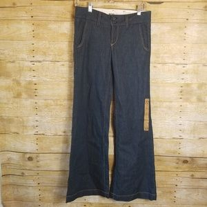 Women's Fossil Flare Bootcut Darkwash Jeans NWT 25